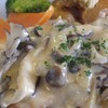 シカの骨のレストラン