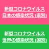 【新型コロナ 感染状況】日本の感染状況(県別)ページを追加しました【アップデート】