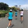 初夏の30kmペース走