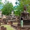 カンペーン・ペット歴史公園(Kamphaeng Phet Historical Park)今にも動き出しそうでした📷