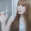 髪フェチ #6 前髪を切る。整える。断髪、セルフカット。 / Fetish , hair , Brushing , bangs , Cut bangs , Japanese girl