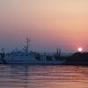 土日の小名浜港