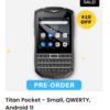 Titan Pocketの正規オーダー開始