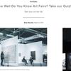 1分で学ぶアート豆知識。レンタル料1070万円のアートフェアのブース。他。