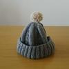 久しぶりに編み物を。