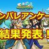 【モンパレ】第21回、22回アンケート結果発表!