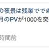 【祝】1000アクセス突破しました!