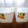 冷蔵庫の野菜室の整理をしよう(前編) 普通に野菜ストッカーを使うだけ