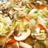 具沢山な野菜スープ。