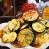 【レシピ】鶏むね肉とズッキーニの揚げ浸し!~さっぱり梅酢めんつゆで~