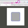 UIViewに角丸な枠線(破線/点線)を設定する