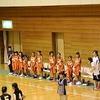 バスケットボール市内大会 女子第1試合 対名和小