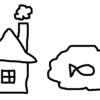 【月曜から夜ふかし】心理テストが面白かった(家と煙突と池と生き物を描くだけ)