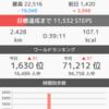 結局4万歩しか歩けなかった。昨日の結果報告。