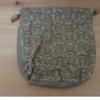 着物生地(24)更紗模様手織り真綿紬