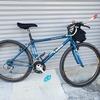 自転車 3週間乗りました