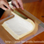 『表巻きロールケーキ』;「割らない」ための【巻き方】・『巻き上げ式成形・横からバージョン』