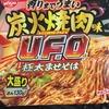 【レビュー】炭火焼肉味UFO極太やきそば