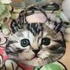 猫の顔型バッグ♪