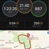 M×K@駒沢   21.4km走!