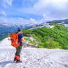 雪と緑、花に滴~越後駒ヶ岳