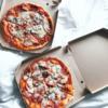 最近見かけたピザの販売方法