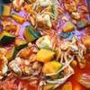 鶏肉とかぼちゃのトマト煮