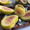 Yellow Figs / Point Reyes Original Blue on Dark Mountain Rye Toast