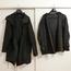 染めQで黒いコートを染めてみた結果。