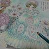 完成】ホルベイン色鉛筆でみおのページを塗ってみました☆ぬりえジョアンナより