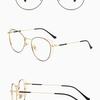 レトロガーリー系のメガネ 顔の形 選び方