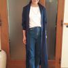 レディースノームコア|無造作に羽織りたい綿麻のシャツワンピース