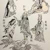 明崇儼、老子、重陽子、彭祖、謝仲初、