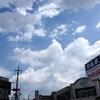 2020年8月12日(水)午前中は猛暑、午後は大荒れ。