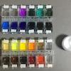 透明水彩パレットの作り方② 固まった絵の具を使う【追記あり】