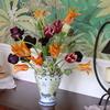 チューリップの花のための花瓶