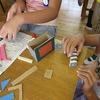 4年生:図工 ギコギコクリエーター完成