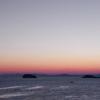 羽豆岬の暖かな夜明け