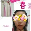 チャイナドレスと手作りアクセサリー(ピンク) Chinese dress and handmade accessories (pink)