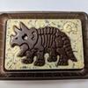 6月29日~6月30日 キャラパキ 発掘恐竜チョコを食べた