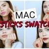 持ってるMACのリップ全部紹介? | MAC LIPSTICKS SWATCHES