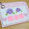 手作り:カード入れ付きミニ財布