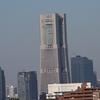 お散歩写真  ランドマークタワー(2021年2月28日)
