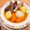 サイゼリヤ下総中山店@下総中山 やわらかお肉とごろごろ野菜のポトフ・他