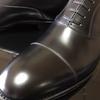 まごころ込めて靴磨き&出荷!