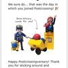 Happy Postcrossingversary!