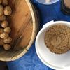 来年用の味噌と醤油の仕込み