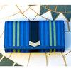 強く大きく 紺色 主婦の為のワクワク宝石箱の財布