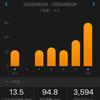 久々の30K走 練習記録 (200803〜200809)