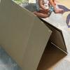Amazonダンボールで作る「三角トンネル」